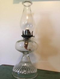 Oil/Kerosene Lamp with Queen Anne No. 2 part