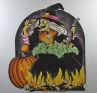 Beistle Witch Die Cut,Door Dcor,Vintage Cut Outs,Vintage ...