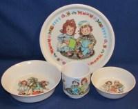 Vintage plastic dinnerware  Etsy