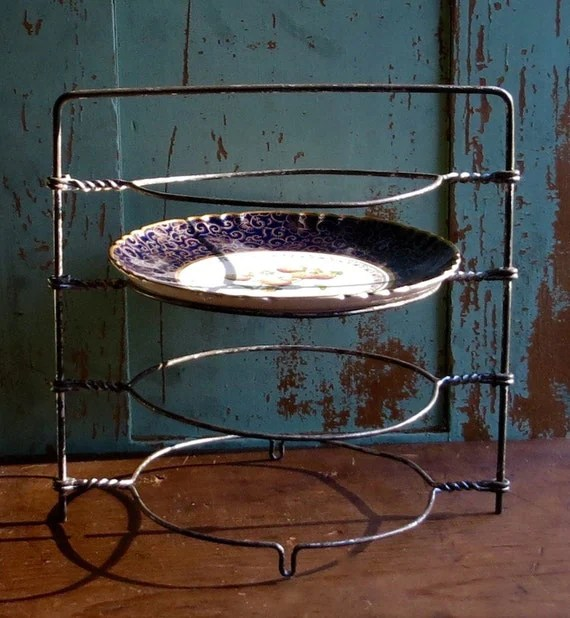 Vintage Wire Cooling Rack Pie And Cake Stand Dessert