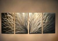 Metal Art Wall Art Decor Aluminum Abstract Contemporary Modern