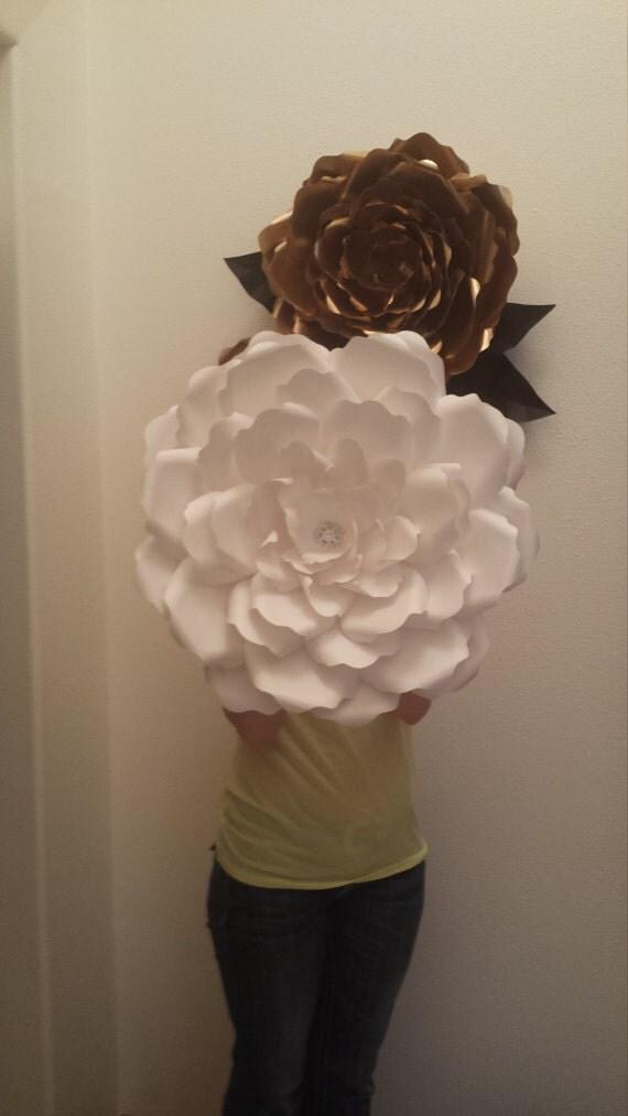 cardstock paper flower