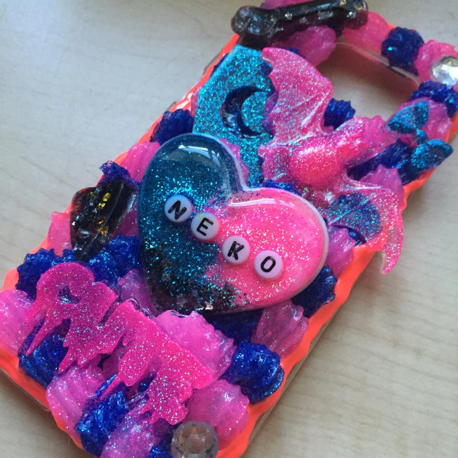 Make Your Own Iphone 5 Wallpaper Custom Decoden Phone Case Kawaii Phone Case Sweets Deco
