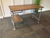 Iron Pipe Office Desk Iron Pipe Desk Kit