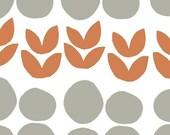 Lotta Jansdotter Fabric - Bella - Orange Flowers