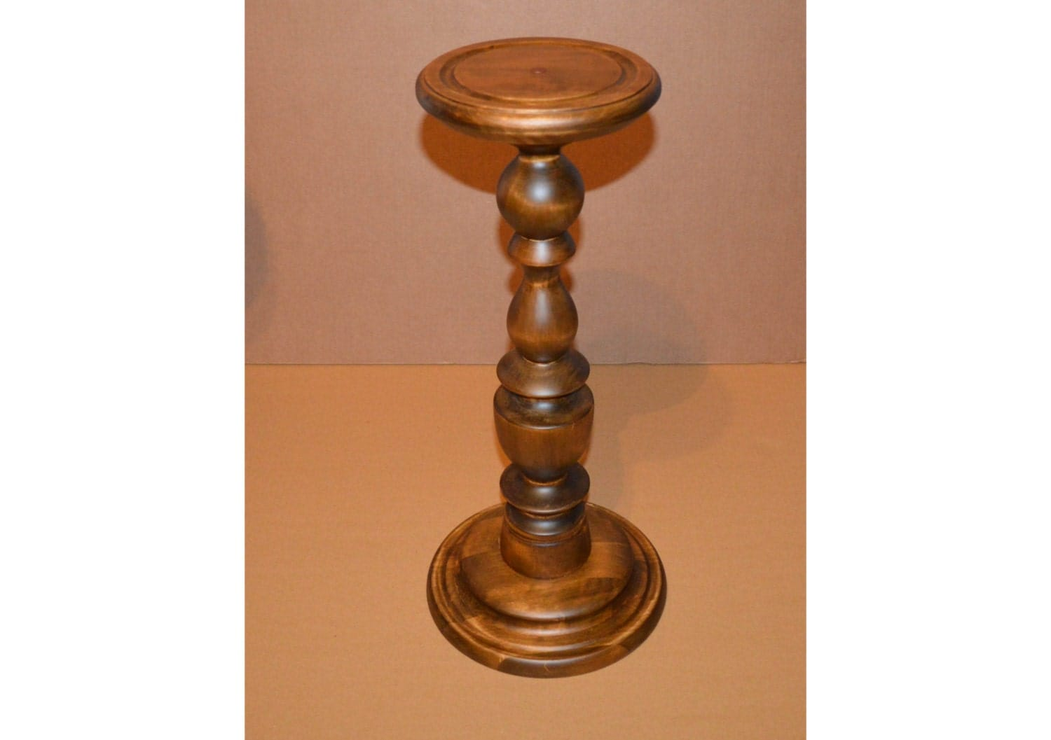 Rustic Small Fern Stand Plant Stand Wood Pedestal Table