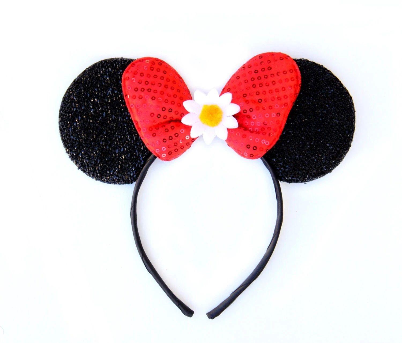 floral disney ears
