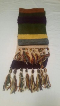 Doctor Who 4th Doctor Inspired 12 Foot Scarf