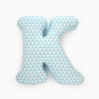 Alphabet Pillow Letter K Alphabet Pillows Initials Letter