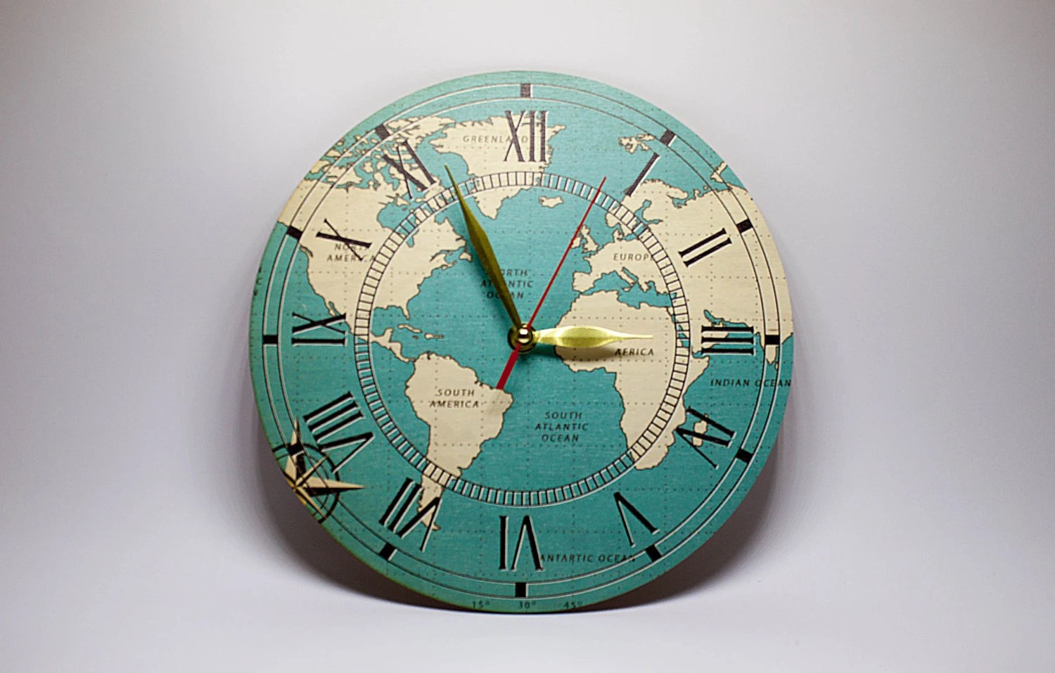 Inexpensive Wall Clock Discount Wooden Wall Clock Geographical Wall Clocks By