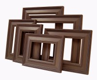 Picture Frames Picture Frame Set Brown or Custom Frames ...