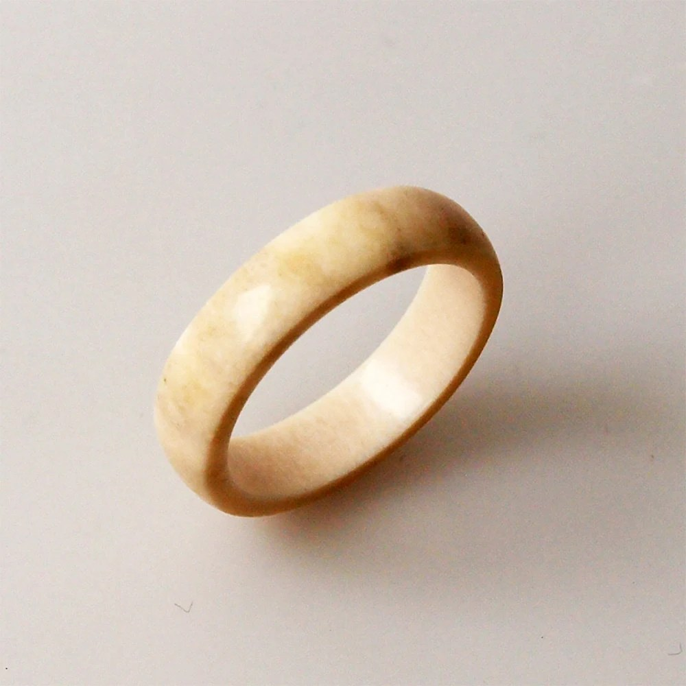 antler wedding band antler wedding band Antler ring Antler rings Bone ring Bone rings Antler jewelry Elk antler ring Wedding band Engagement ring Men rings Women ring
