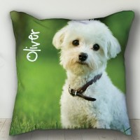 Custom PERSONALIZED Pet Pillow Personalized Dog or Cat Photo