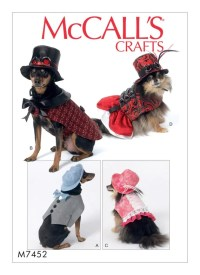 Sewing Pattern for Dog Clothes Dog Costumes McCall's