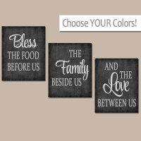 KITCHEN Wall Art Canvas or Prints Kitchen Quote Artwork