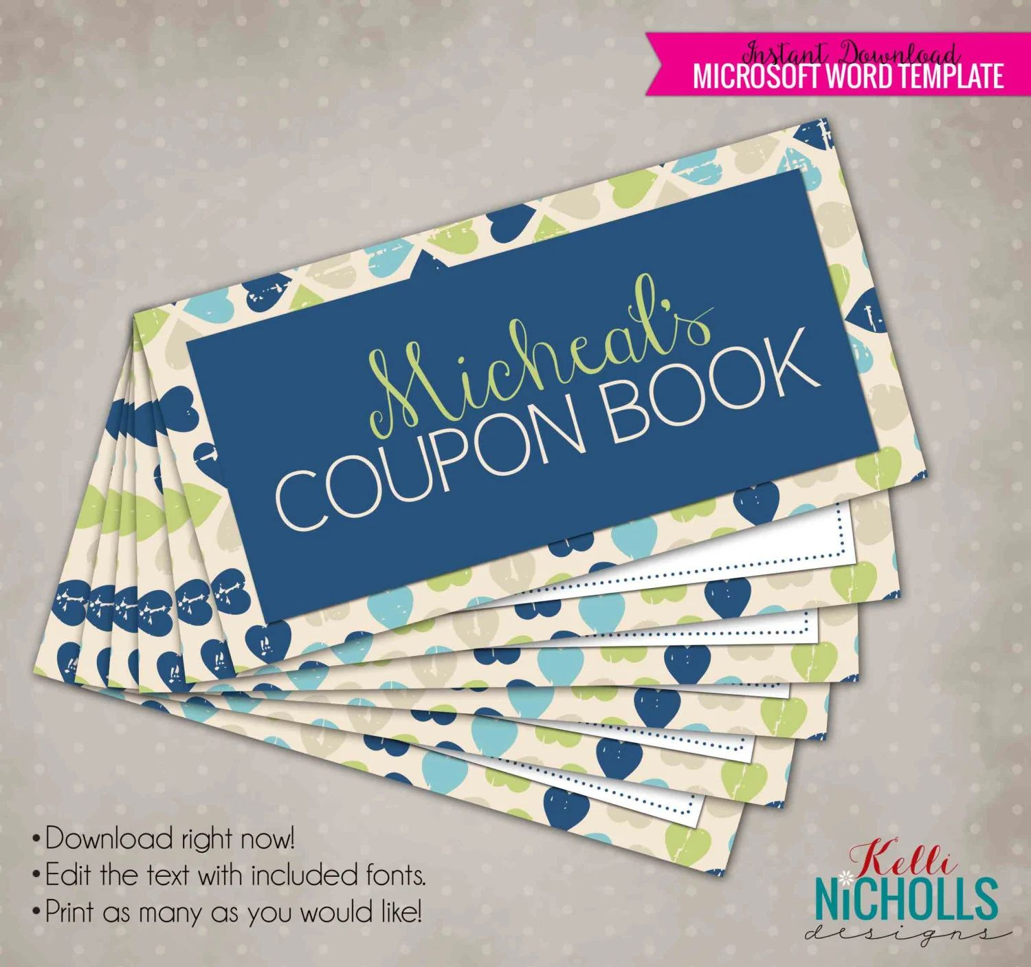 coupon book for husband