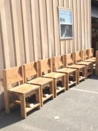 Chair / simple chair / reclaimed rustic chair