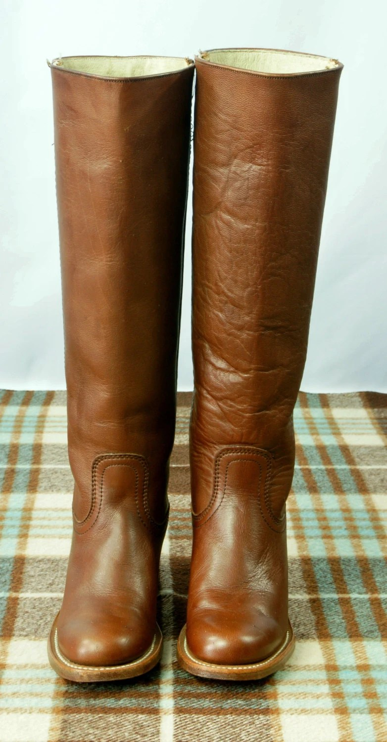 Vintage Frye Campus Boots Women39s Size 55 5 1 2 B By