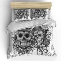 skull comforter sets - 28 images - featherweight beige ...