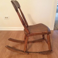 Antique Armless Rocking Chair | Antique Furniture