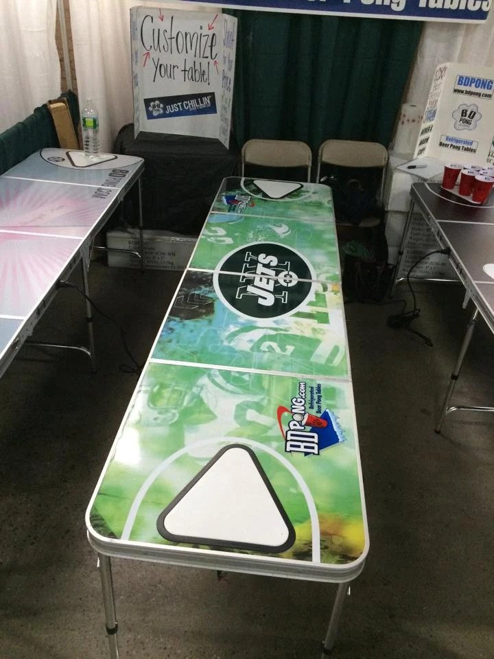 Custom Logo Beer Pong Tables