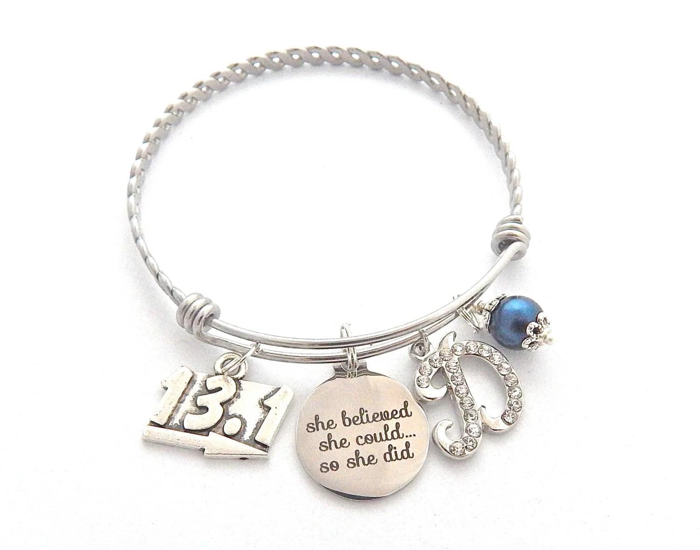 Half Marathon Gift 131 Bracelet Running Jewelry Half