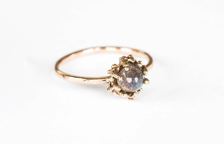 ethereal labradorite 14k gold ring labradorite wedding ring ethereal labradorite 14k gold ring alternative engagement ring labradorite engagement promise ring gold labradorite ring