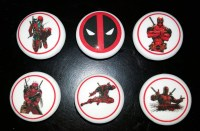 Deadpool superhero set / Bedroom Dresser Knob / Nursery ...