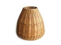 Vintage Bamboo Rattan Lamp Shade Woven