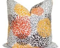 Grey outdoor pillow | Etsy