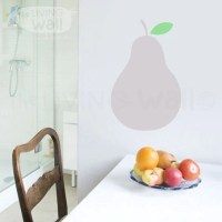 Pear Wall Decals Fruit Wall Art Pear Nursery Baby by ...
