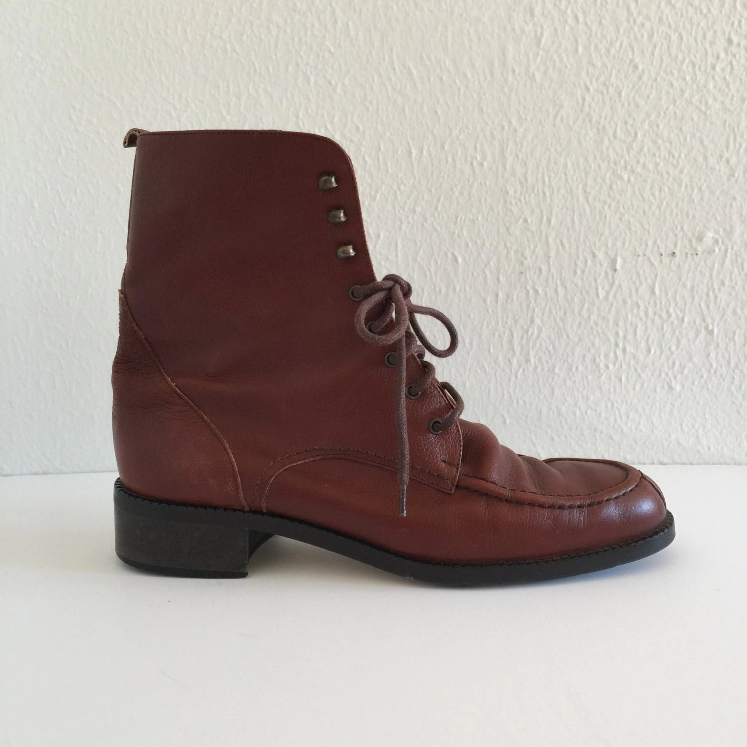 Vintage Eddie Bauer Boots 1990s Women Shoes Casual Brown