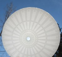 Beautiful Vintage Ceiling Light Cover-White Milk Glass
