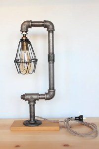 Modern Vintage Iron Pipe Lamp