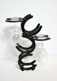 Wine Rack Wine Bottle Holder Horseshoe Wine Rack Kitchen