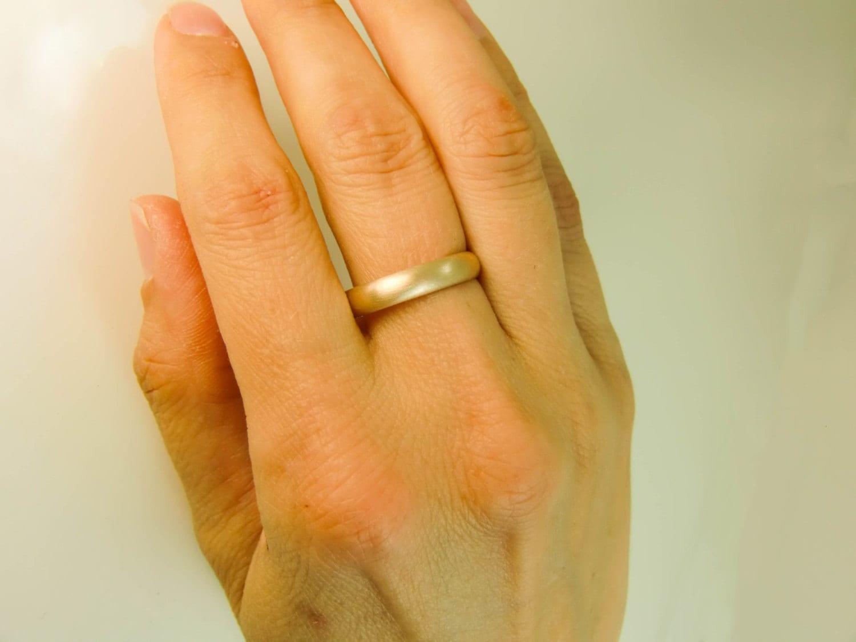 unisex wedding band 14k gold wedding band 14 Karat Gold Ring 4mm X 1 5mm Gold Wedding Band Mens Gold Wedding Band Womens Gold Wedding Ring Plain 14K Gold Band 14K Gold Ring
