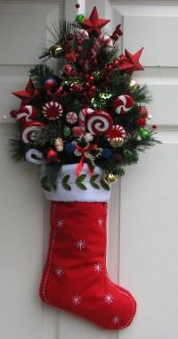 Christmas Wreath Christmas Swag Christmas Stocking