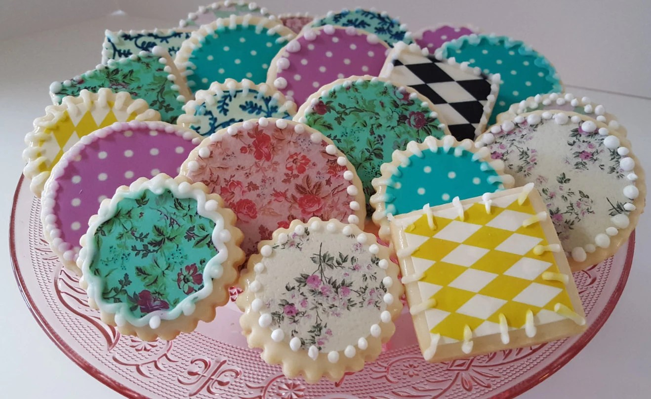 20 Off Coupon On Edible Pattern Sheet Vintage Floral