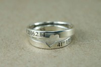 Couple Rings Couple Ring Set Promise Rings For Couples His