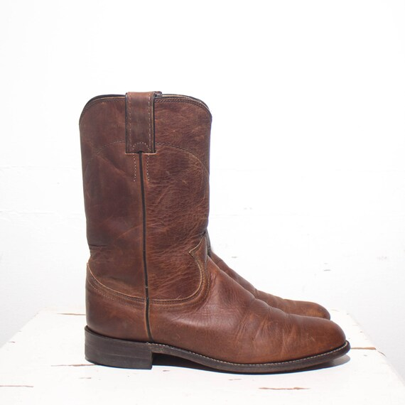 7 B Women39s Brown Pull On Justin Roper Boots All