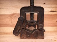 Antique Cast Iron Pipe Vise by Reed Manufacturing Company Erie