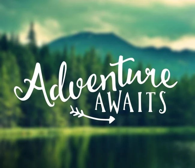 Phone Wallpapers Motivational Quotes Decal Adventure Awaits Decal Car Decal Laptop Decal