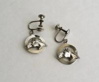 Screw head earrings | Etsy
