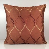 Cinnamon Copper Pillow Throw Pillow Cover Decorative Cover