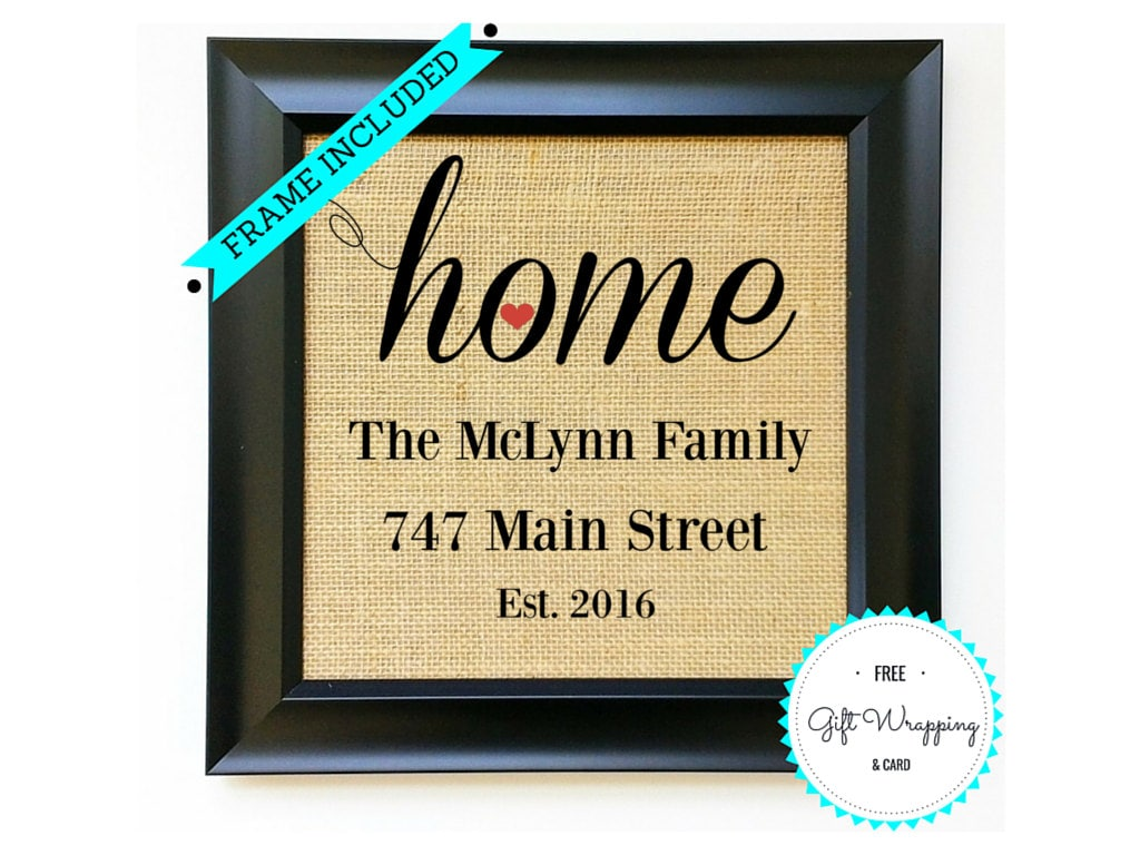 Personalized House Warming Gift Personalized Housewarming Gift House Warming Gifts Home