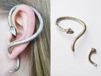 EarringsEarcuffs - earring snake, ear cuff snake, earrings ...