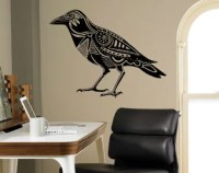 Raven wall decals | Etsy