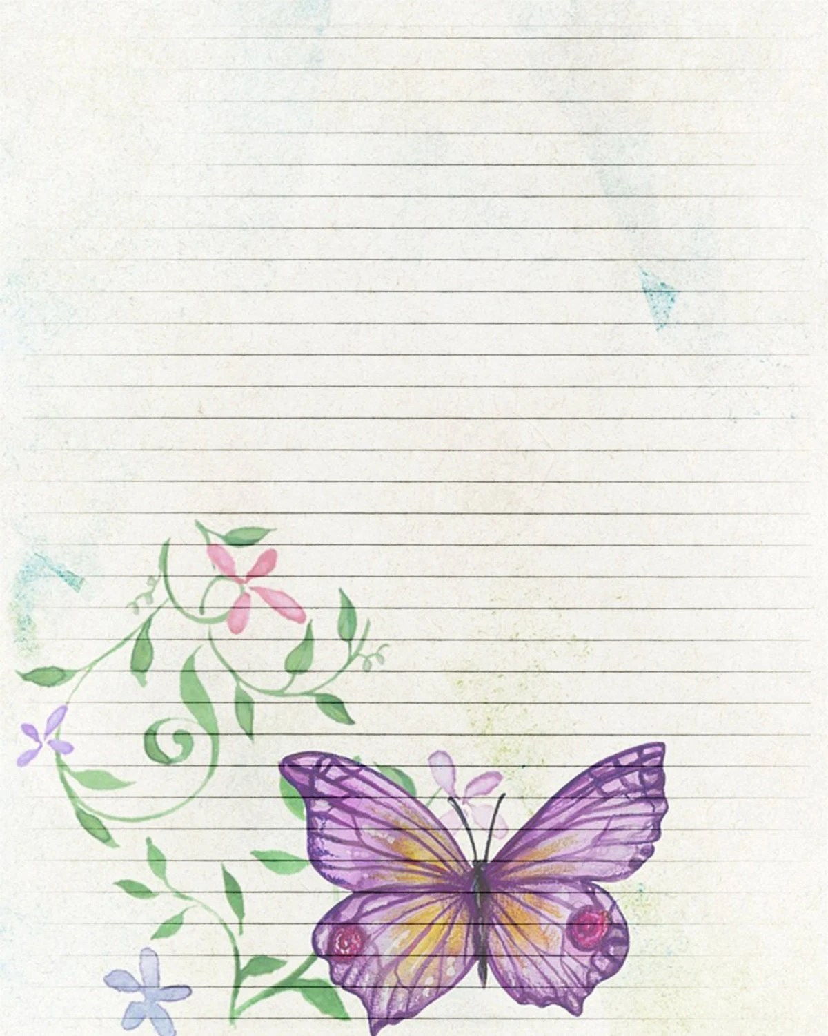 Lined Stationery Paper Fair Free Printable Stationery Templates Deco