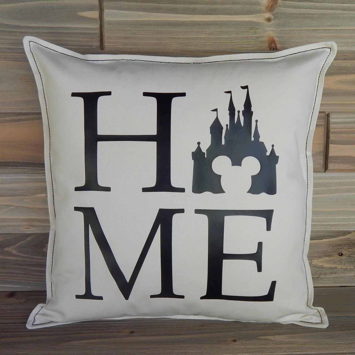 Disney Home Decor Disney Inspired Pillow Cover 16x16 Disney Home Decor Disney