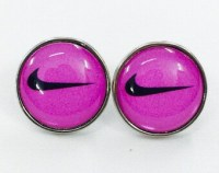 Nike earrings
